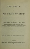 view Brain as an organ of mind / by H. Charlton Bastian ; with 184 illustrations.