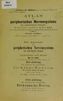 view Die Anatomie der menschlichen Gehirnnerven für Studierende und Ärzte von Professor Dr. Rüdinger / [Nicolaus Rüdinger].