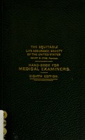 view Handbook for medical examiners.