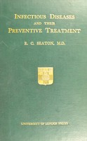 view Infectious diseases and their preventive treatment
