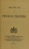 view Manual of physical training.
