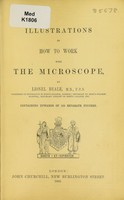 view Illustrations to How to work with the microscope