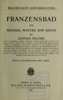 view Franzensbad : her mineral waters and baths