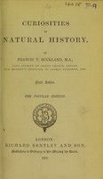 view Curiosities of natural history