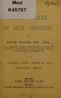 view Golden rules of skin practice / by David Walsh.