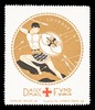 [Fund-raising sticker for the Daily Mail Red Cross Fund. Courage].
