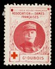 [Stamp-like sticker sold to raise funds for the French Red Cross. Bearing a portrait of: Gl. Dubois].