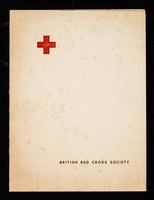 view [British Red Cross Society Christmas card featuring a portrait of The Queen].
