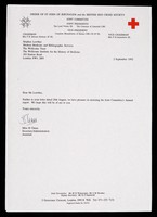 view [British Red Cross Society letterhead, as used in 1992].