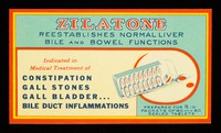 view Zilatone reestablishes normal liver, bile and bowel functions.