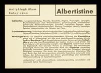 view Albertistine : Antiphlogistikum Kataplasma.