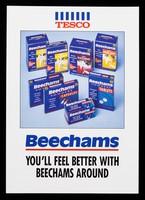 view Tesco : Beechams you'll feel better with Beechams around.