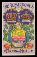 view The royal crowns : June 26 1902 : a crown of health.