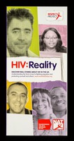 view HIV : reality : discover real stories about HIV in the UK : understanding the facts is key to fighting prejudice and protecting yourself and others / Aware Ltd.