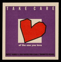 view Take care of the one you love.... : protect yourself & your partner from sexually transmitted diseases