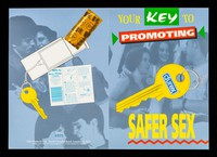 view Your key to promoting safer sex : Durex condom keyrings : the ideal way to remove inhibitions fom carrying condoms