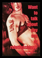 view Want to talk about gay sex or relatonships? : Face 2 Face <sex advice> / aTerrence Higgins Trust.