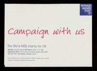 view Campaign with us : the HIV & AIDS charity for life ...