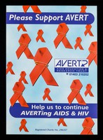 view Please support AVERT : help us to continue AVERTing AIDS & HIV / AVERT.