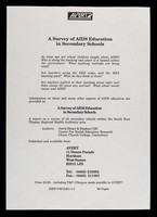 view A survey of AIDS education in secondary schools / AVERT.