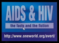 view AIDS & HIV : the facts and the fiction