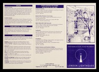 view Information for women / London Lighthouse.