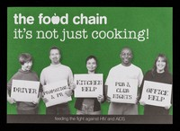 view The Food Chain : it's not just cooking : feeding the fight gainst HIV and AIDS : what can you do? : new contact details / The Food Chain.