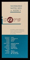 view Working with HIV or AIDS? / iCARE.
