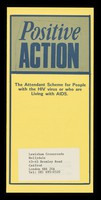 view Positive Action : the attendant scheme for people with the HIV virus or who are living with AIDS / Lewisham Crossroads.