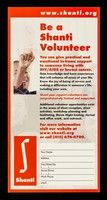 view Be a Shanti volunteer : you can give practical and emotional in-home support to someone living with HIV/AIDS or breast cancer ... / Shanti.