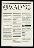 view WAD '93 : events 1 : World AIDS Day events October 1993