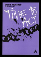 view Time to act : World AIDS Day, 1st December 1993