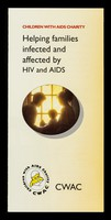 view Helping families infected and affected by HIV and AIDS