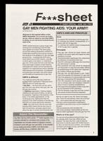 view F***sheet : F***sheet special. June 1994. Free / GMFA.