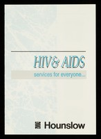 view HIV & AIDS : services for everyone / Hounslow.