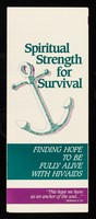 view Spiritual strength for survival : finding hope to be fully alive with HIV/AIDS