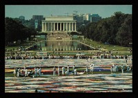 view The international display of the entire Names Project AIDS memorial quilt October 9-11, 1992 / The Names Project Foundation ; photographer Debra L. Rothenberg.