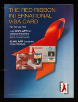 view The Red Ribbon International Visa card : no annual fee, just 3.9% APR on balance transfers / MBNA International.