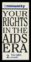 view Your rights in the AIDS era. Immunity Publications Ltd.