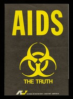 view AIDS : the truth / The National Vivisection Society.