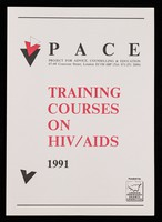 view Training courses on HIV / AIDS 1991 / PACE, Project for Advice, Counselling & Education.