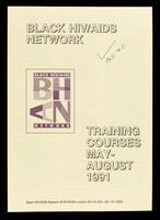 view Training courses may-August 1991 / Black HIV/AIDS Network.