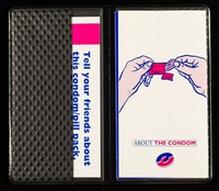 view Tell your friends about this condom/pill pack : to get one, they just neeed to ask their GP or family planning doctor