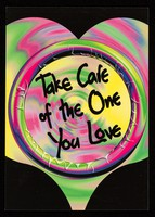 view Take care of the one you love / Lothian Health ; designed by The Graphics Company.
