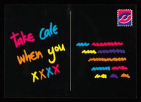 view Take care when you xxxx : the Take Care campaign in Lothian : reminding everyone to Take Care with sex.
