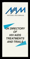 view UK directory of HIV/AIDS treatments and trials