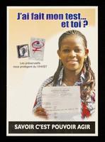 view J'ai fait mon test... et toi? : savoir c'est pouvoir agir / African Positive Association ; avec le soutien de l'INPES.