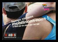 view Homos séropos mobilisons-nous! : En parler pour être aidés et pour s'entr'aider / AIDES.