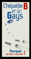 view L'hépatite B et les gays : pourquoi se faire vacciner?