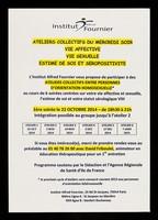 view Ateliers collectifs du mercredi soir : vie affective, vie sexuelle, estime de soi et de séropositivité ... / Institut Alfred Fournier.